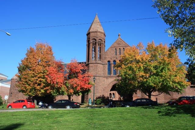 佛蒙特大学地理优势明显 校园风景怡人
