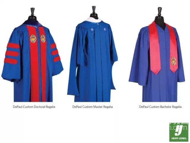毕业季到来 看看国外大学五颜六色的学位服的含义吧图2